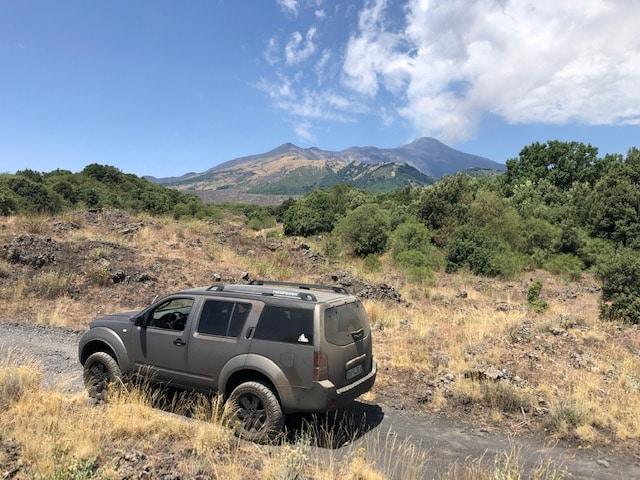 Escursioni in jeep sull'Etna